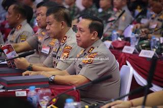 Kapolda Jambi Hadiri Rapim TNI dan Polri Tahun 2020 di GOR Ahmad Yani, Mabes TNI Cilangkap