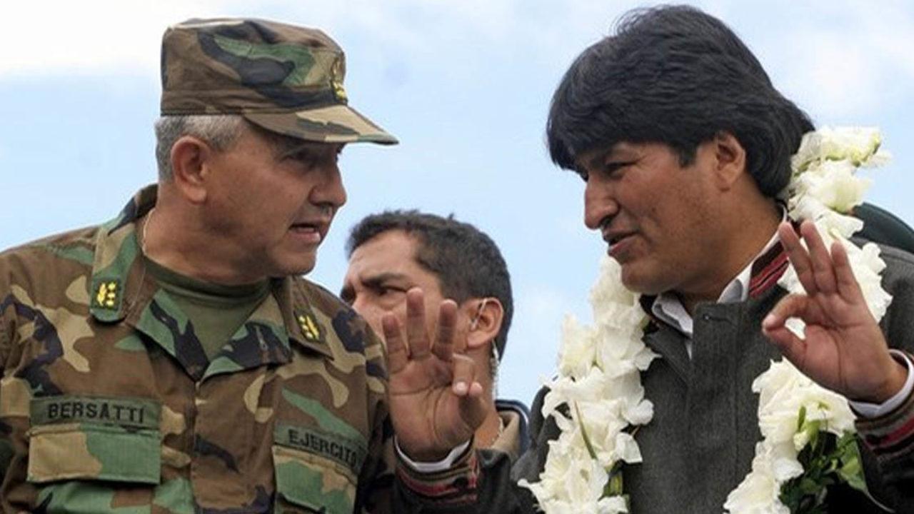 Bersatti acompañando a Morales desde que era efectivo militar en el grado de general / ARCHIVOS WEB