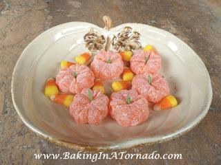 Candy Pumpkins  | www.BakingInATornado.com