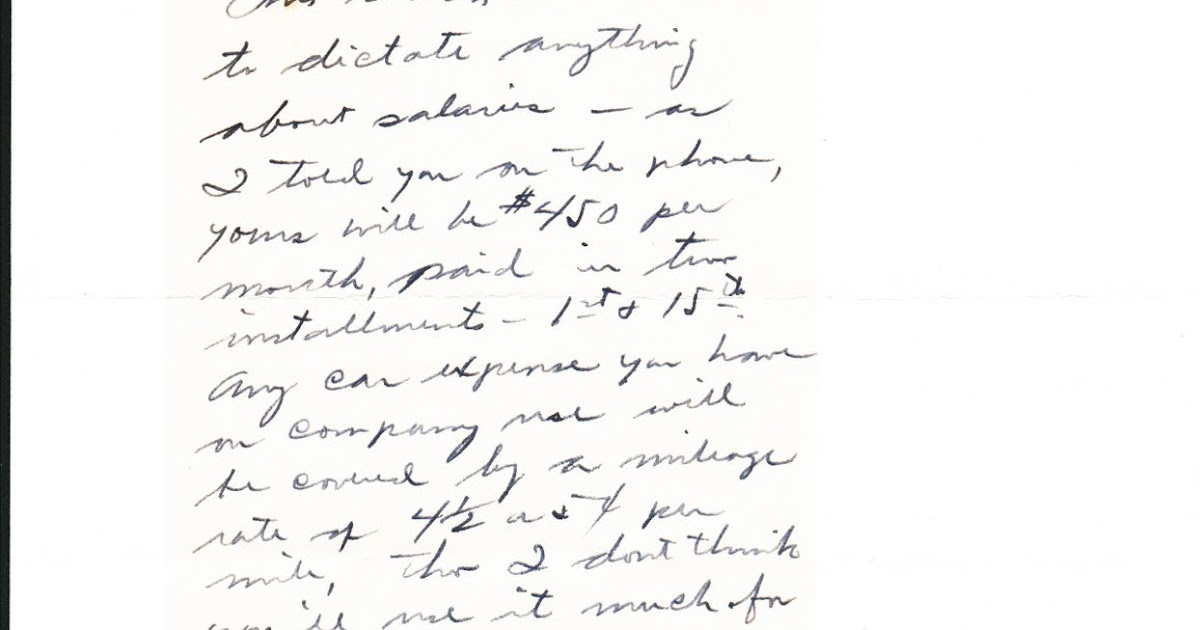 The Old Sugar Land Club House: Employment Letters from the