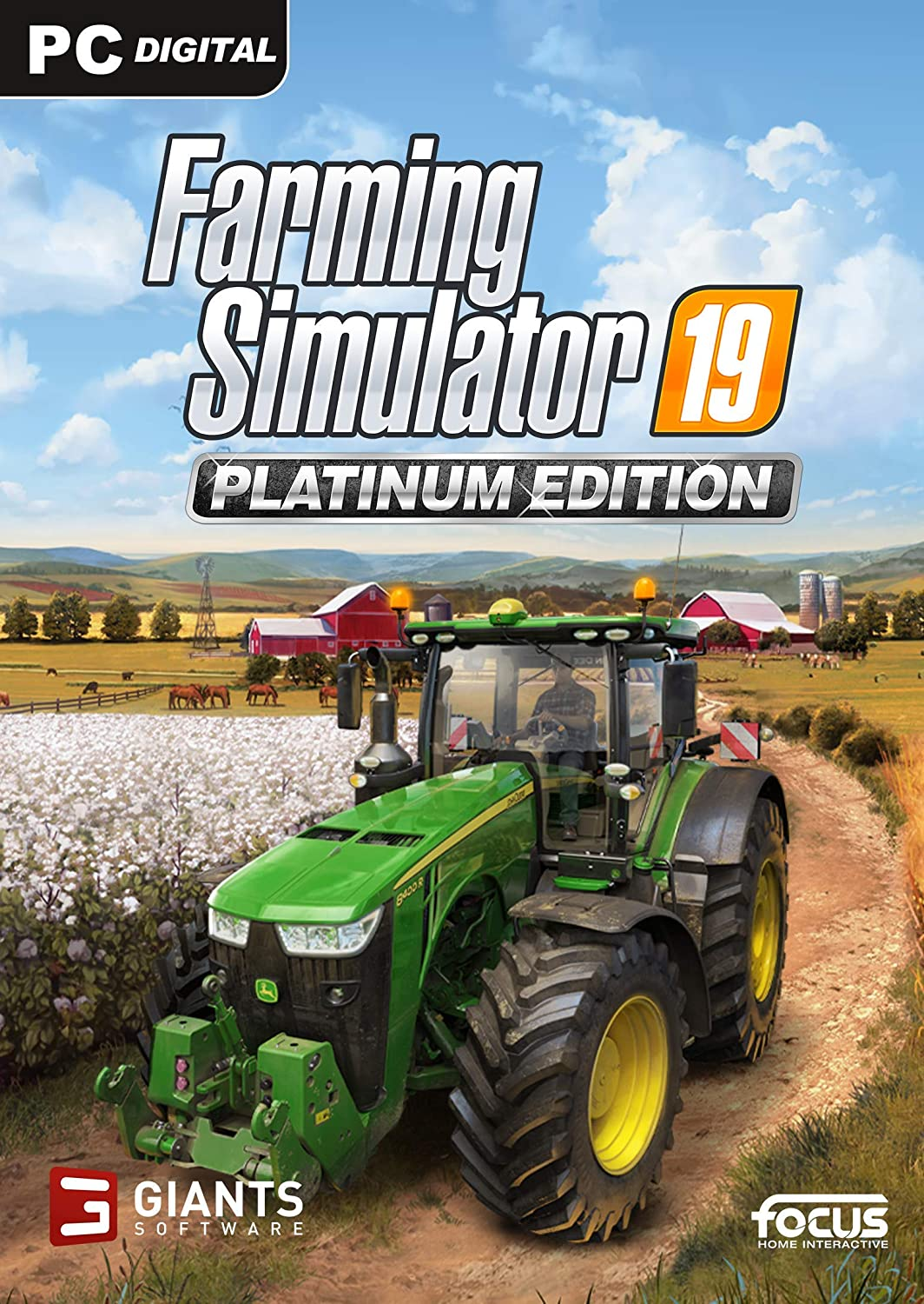 Descargar Farming Simulator 19 PC Cover Caratula