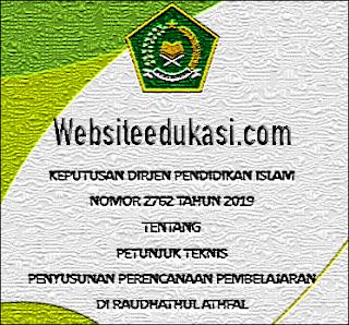 Juknis Penyusunan RPP Raudhatul Athfal (RA) Tahun 2019