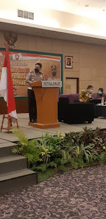 Prof. Drs. Adrianus Eliasta Meliala, M.Si M.Sc, Ph.D menjadi narasumber Focus Group Discusion ttg Kampung Tangguh Jaya dan   PPKM Mikro.