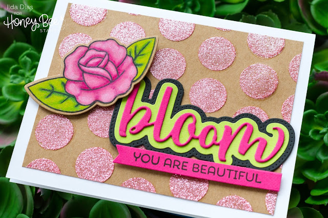 Bloom, You Are Beautiful Friendship Card | Honey Bee Stamps