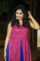 Srushti in beautiful Pink Sleeveless Dress Cute Actress Dimples ~  Exclusive 041.JPG