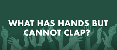 Figure: What has hands but cannot clap?