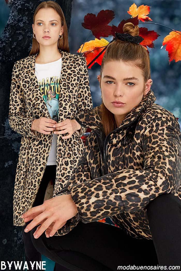 Animal print moda invierno 2020. Moda 2020.