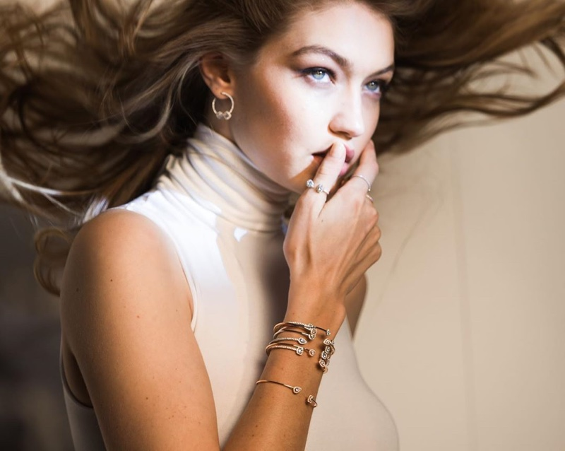 Gigi Hadid stars in Messika Jewelry 2019 campaign