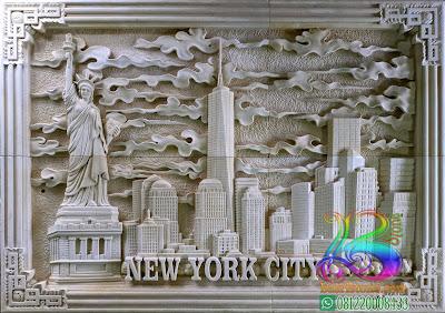 Relief batu alam liberty