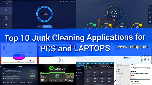 Top 10 Best Junk Cleaning Applications for PCs and Laptops
