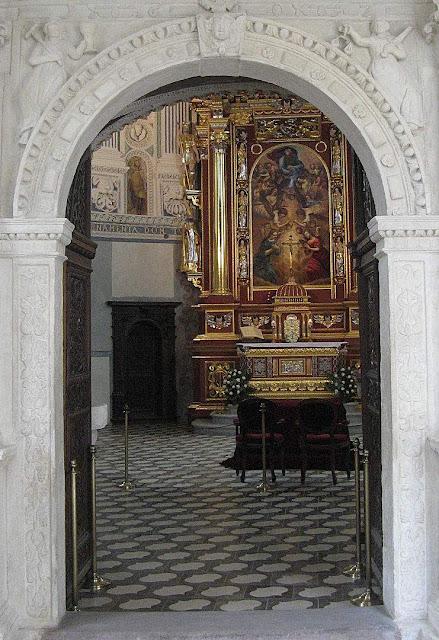 Capela do castelo de Krasiczyn, Polônia