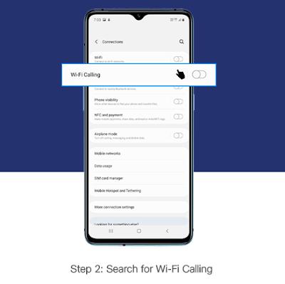 WIFI CALLING SEARCH KARE