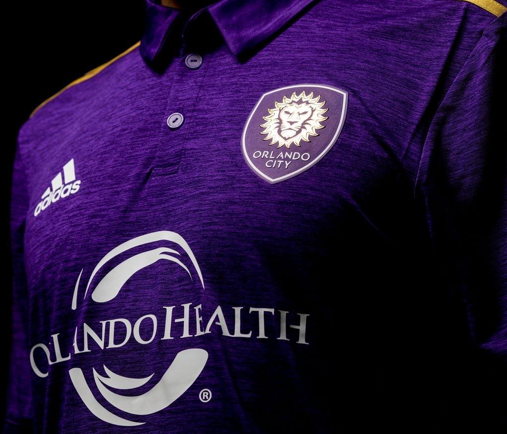 Adidas lança a nova camisa titular do Orlando City para a MLS 2017 ... 93ed42c6a2566