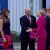 VIDEO: Ekspresi Lucu Donald Trump Saat Ditolak Jabatan Tangannya dan Lupa Mobil