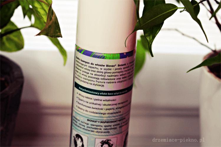 L'biotica Biovax Botanic - Suchy szampon do codziennego stosowania