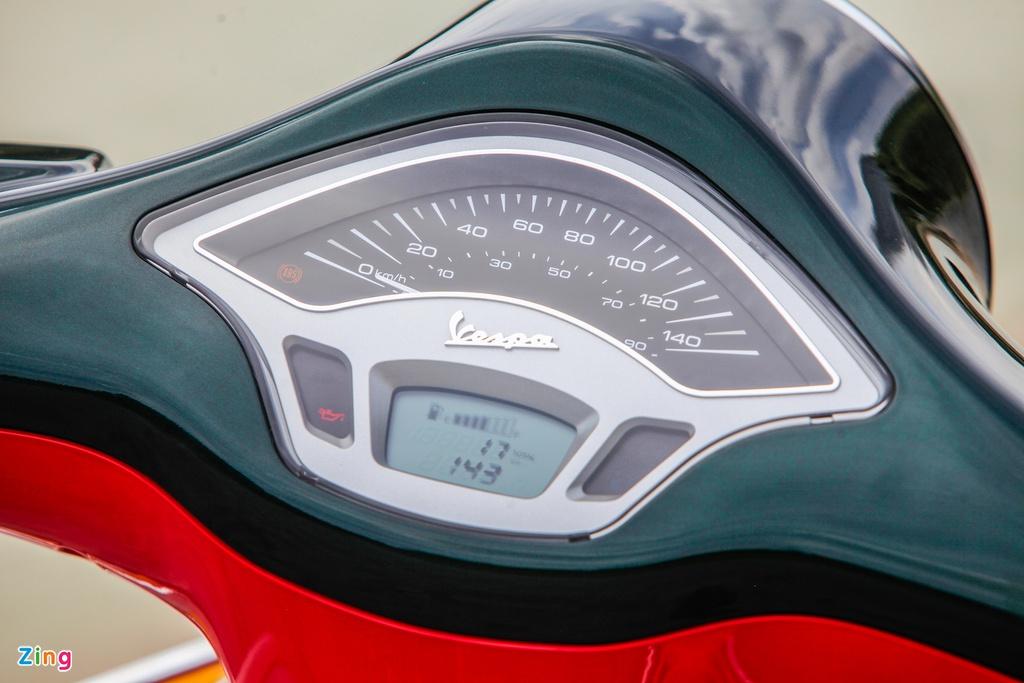 Chi tiết Vespa Primavera bản giới hạn 50 chiếc tại VN, giá 135 triệu