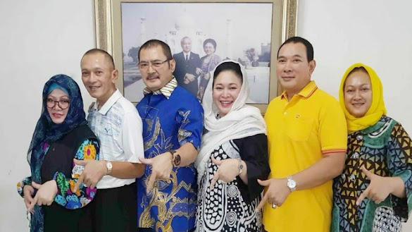 Dukungan Penuh Keluarga Cendana Tambah Energi Prabowo