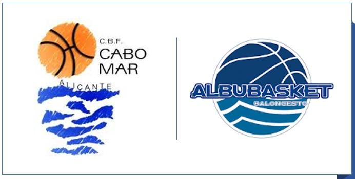 CB Albubasket  y CBF Cabo Mar  juntos por la construcción de un pabellón cubierto en la Albufereta
