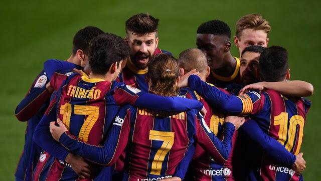 Con épica, Barcelona dio vuelta la historia ante Sevilla y es finalista