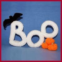 Boo crochet