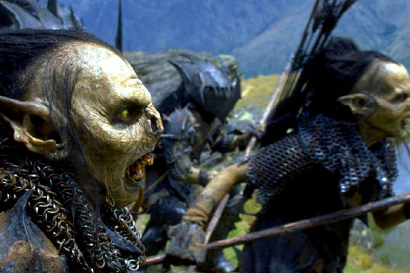 The Dark Servants of The Hobbit   The Goblins and Orcs in the Trilogy Orc Leader Hobbit