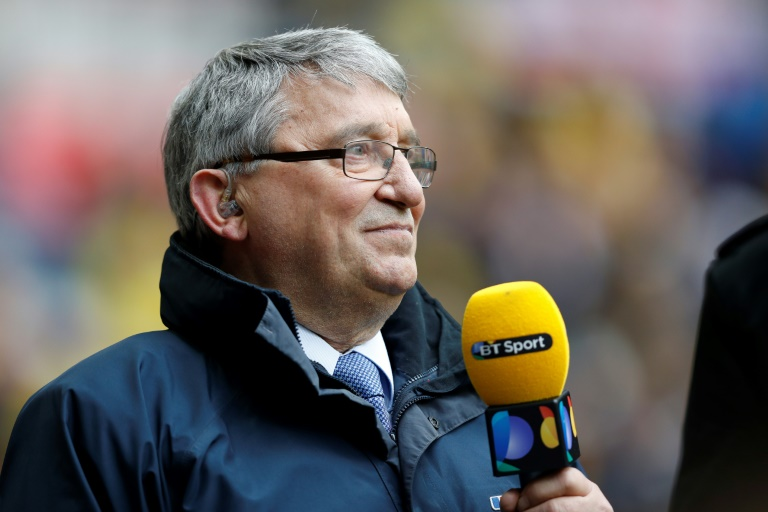 Former England and Watford manager Graham Taylor attends the FA Cup semi-final between Crystal Palace and Watford at Wembley Stadium in London on April 24, 2016.