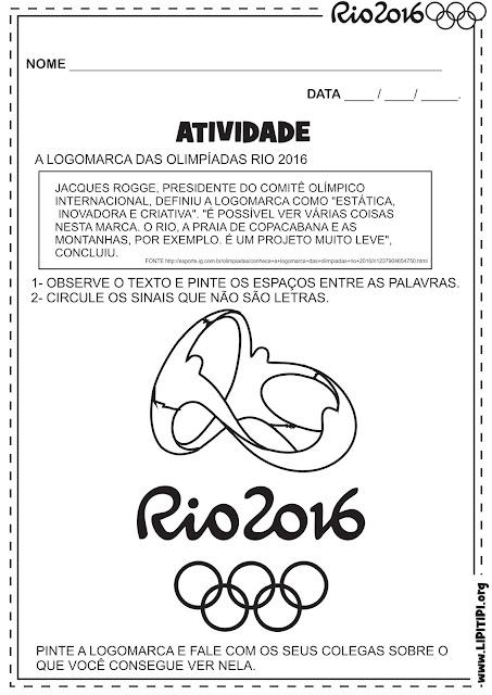 17 Atividades Olimpíadas para turmas de Alfabetização