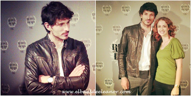 Rebel Hero y Andrés Velencoso, por H.E. by Mango El baul de Eleanor
