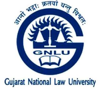 GNLU Job 2020
