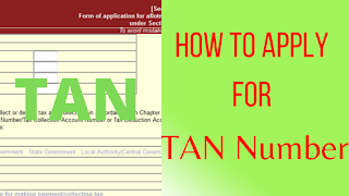 How To Apply For TAN Number