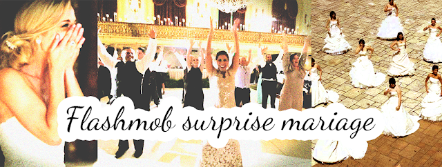 Flashmob surprise mariage