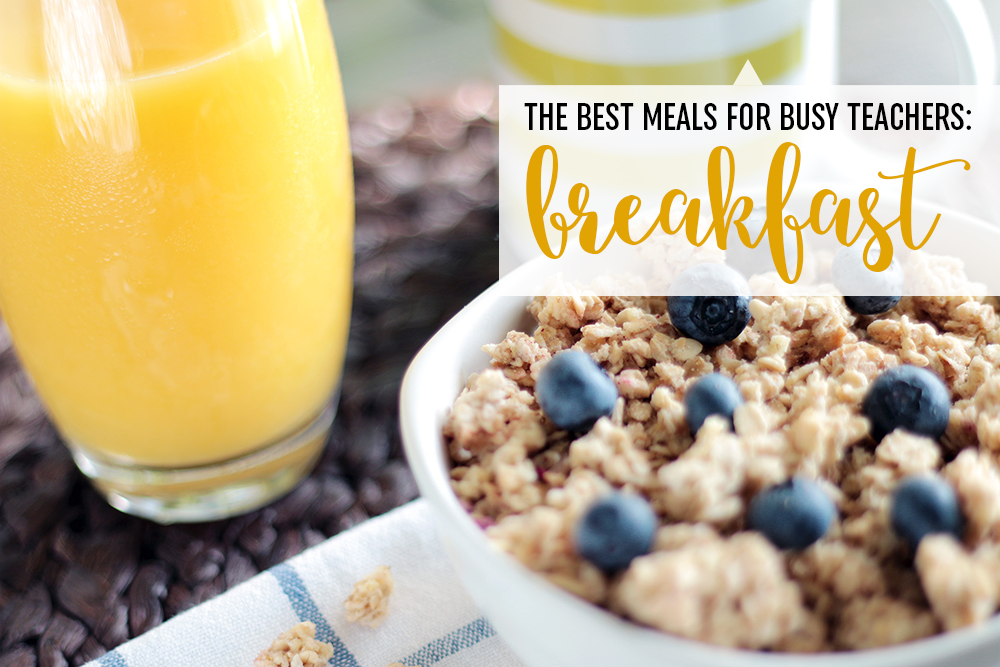 Are you exhausted thinking of different things to make in the morning and usually skip out on breakfast to begin with? Are you looking for things that are quick, easy, and can simply be made ahead of time to save you time? Meals that can either be consumed sitting down with your family or taken on the go with ease? Mornings are insane, especially for teachers, and I'm happy to share some of the best recipes for those busy busy mornings.