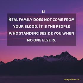 Sai Quotes: Family Quotes