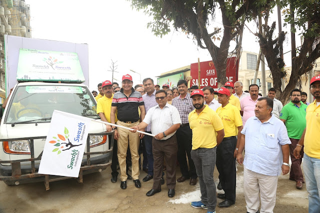 SAYA GROUP PICKS UP THE ONUS TO CLEAN INDIRAPURAM