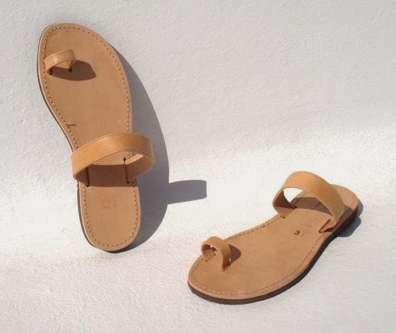 53d2108c7c020 This is one my my favorite designs from ANIAS. Leather sandal with a toe  ring and a minimalist look.