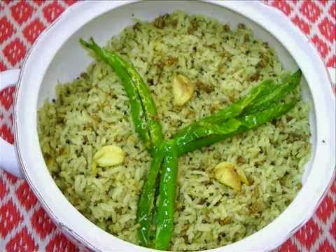 Hara Masala Brown Rice Pulao (Veg) From Imperial Inn