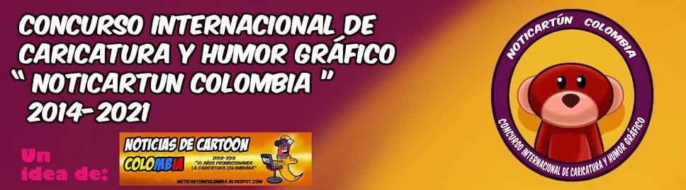 Concurso internacional de caricatura y humor gráfico - Noticartún Colombia-