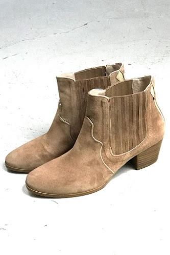 Boots Bullit daim sable Patricia Blanchet