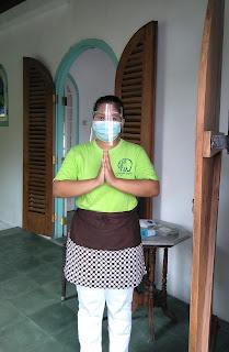 Protokol kesehatan di Gadjah Wong Resto
