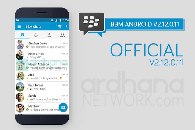 BBM Official V2.12.0.11 - Update Terbaru 03 Maret 2016
