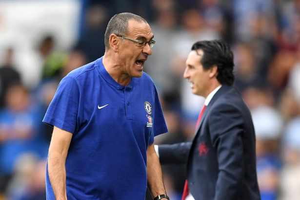 Sarri Blasts Chelsea Players After 2-0 Defeat Against Arsenal