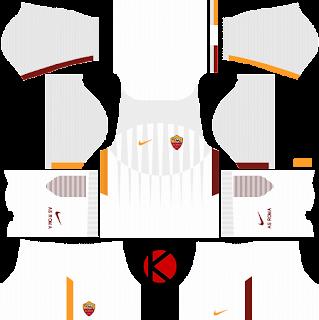 AS Roma Kits 2017/2018 - Dream League Soccer