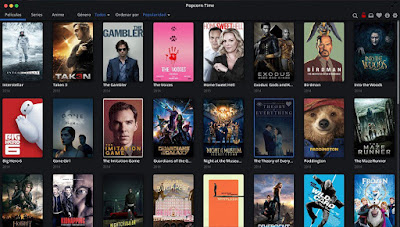 Screenshot Popcorn Time - Téchne Digitus InfoSec