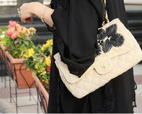 67fe4153a49 Since women in Saudi Arabia are required to wear black abayas to cover  their whole bodies, they are unable to show their taste in fashion.