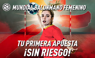 sportium Mundial Balonmano Femenino: Tu 1.ª apuesta es Sin Riesgo