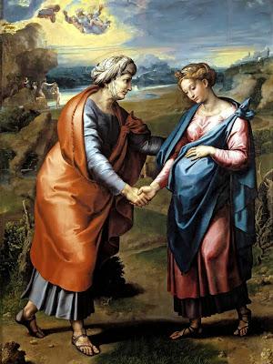 Encuentro de la Virgen Maria con su Prima Santa Isabel