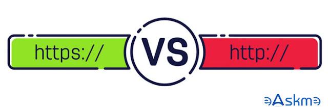 Difference between HTTP vs. HTTPS: eAskme