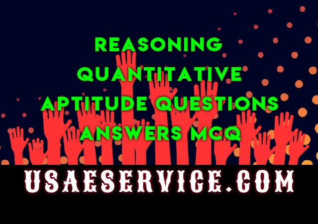 Quantitative Reasoning Quizzes USA