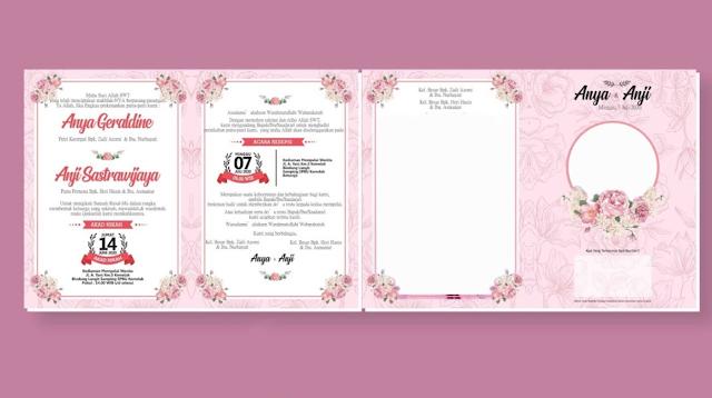 Download Contoh Desain Undangan Pernikahan Dengan Word Gratis