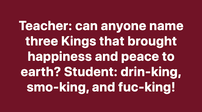 Can anyone name three Kings that brought happiness and peace to earth?